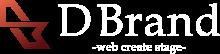 株式会社D Brand 東京・名古屋・大阪をメインにホームページ制作や企業向けデザインをトータルプロデュースするクリエイティブチーム。名刺デザインから看板まで幅広く対応しております。
